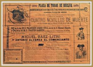 """Cartel Litri y """"El Comerciante"""" con Garrido"""
