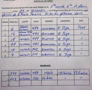 ORDEN DE LIDIA ACHO 29N