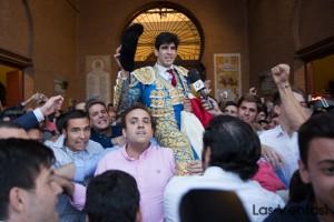 Lopez Simon Puerta Grande Beneficencia las Ventas