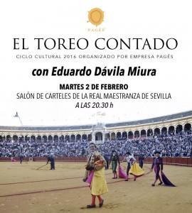 DAVILA MIURA EL TOREO CONTADO